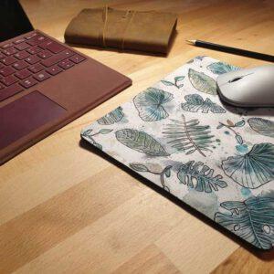 Mousepad   Aquarell   Blätter