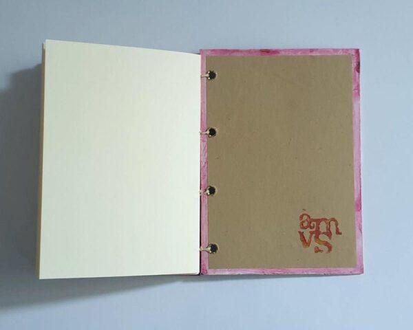 amvspreckelsen Illustration & Design buch koptische bindung