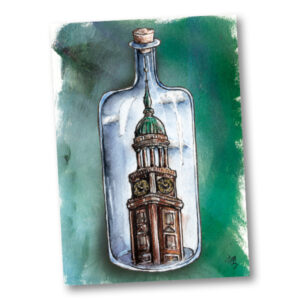 Postkarte Sankt Michaelis