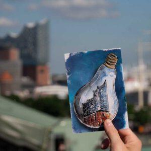 Postkarte Elbphilharmonie