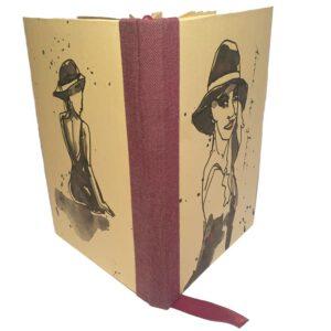 Buch A6 Oneline Frau