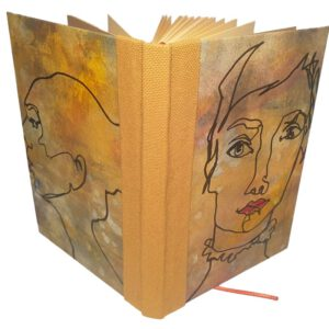 Buch A6 Oneline gelb