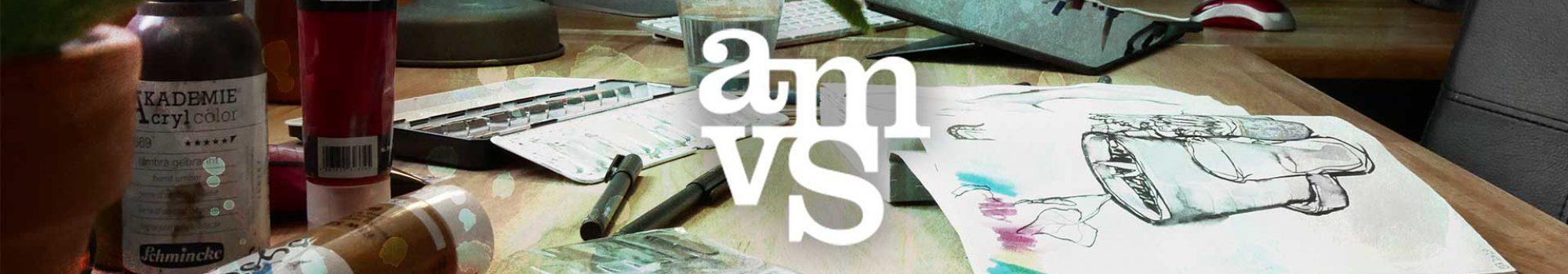 amvspreckelsen Illustration & Design Hamburg, Shopbanner